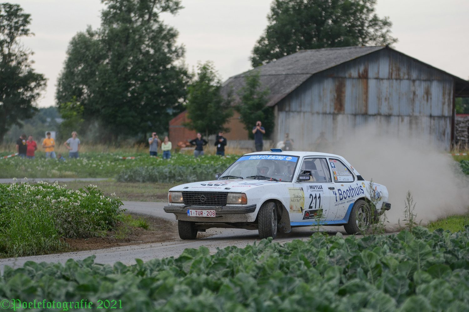 TBR Rallysprint door Geert Evenepoel