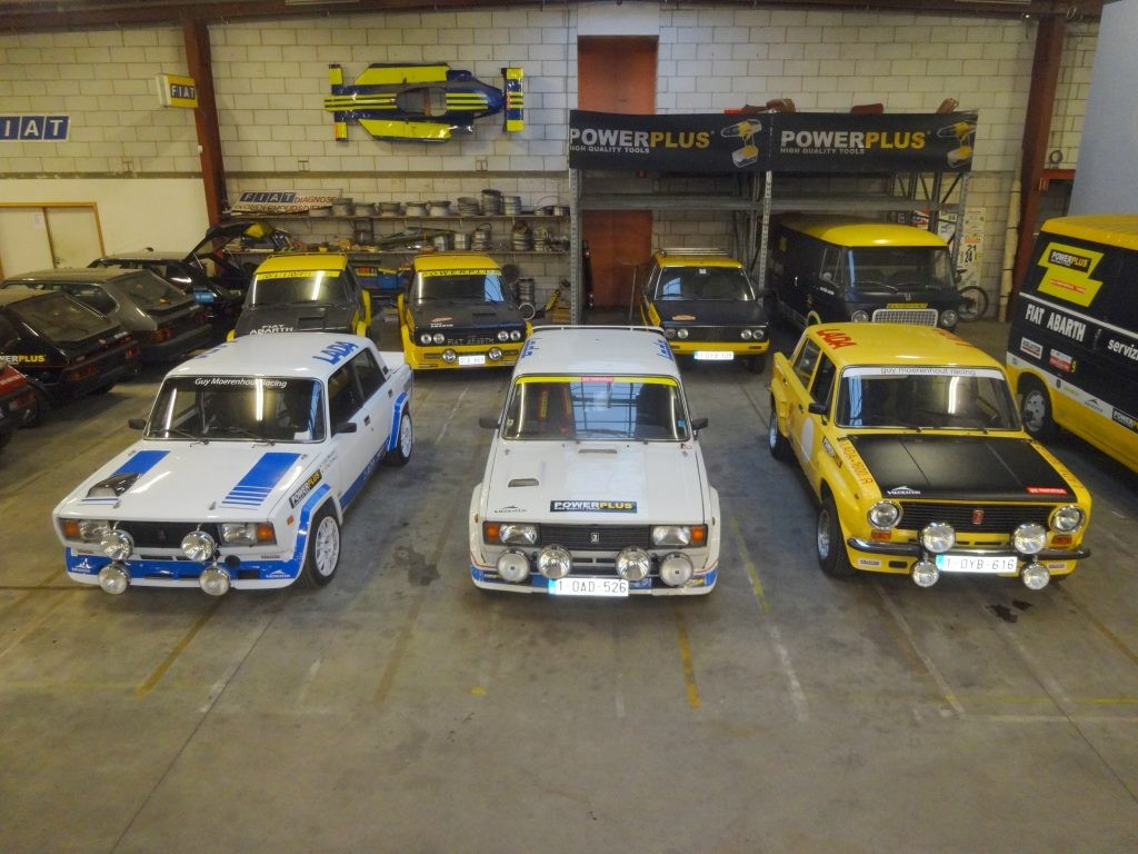 EEN LADA SPORT HISTORIC TEAM IN DE LEGEND BOUCLES !