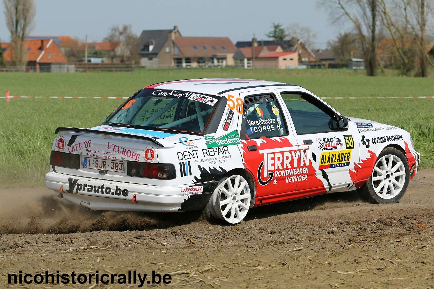 Nick Toorre in de TAC Rally.