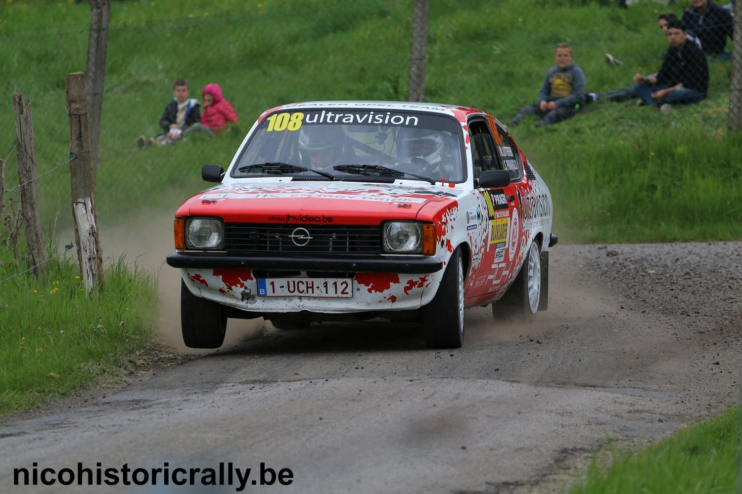 Michael Lottefier in de Rally van Wallonie.