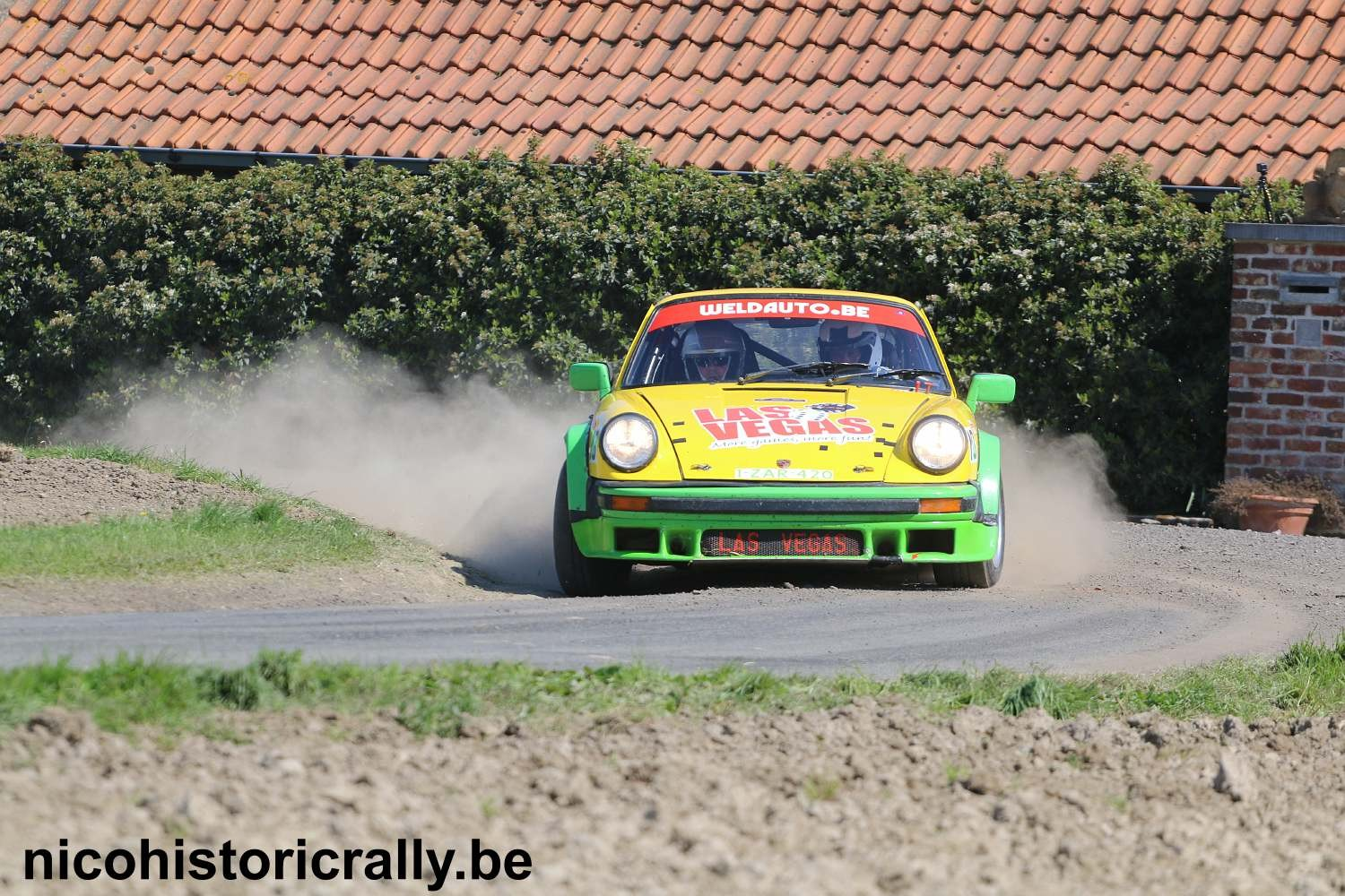 Lode de Keyser in de Monteberg Short Rally.
