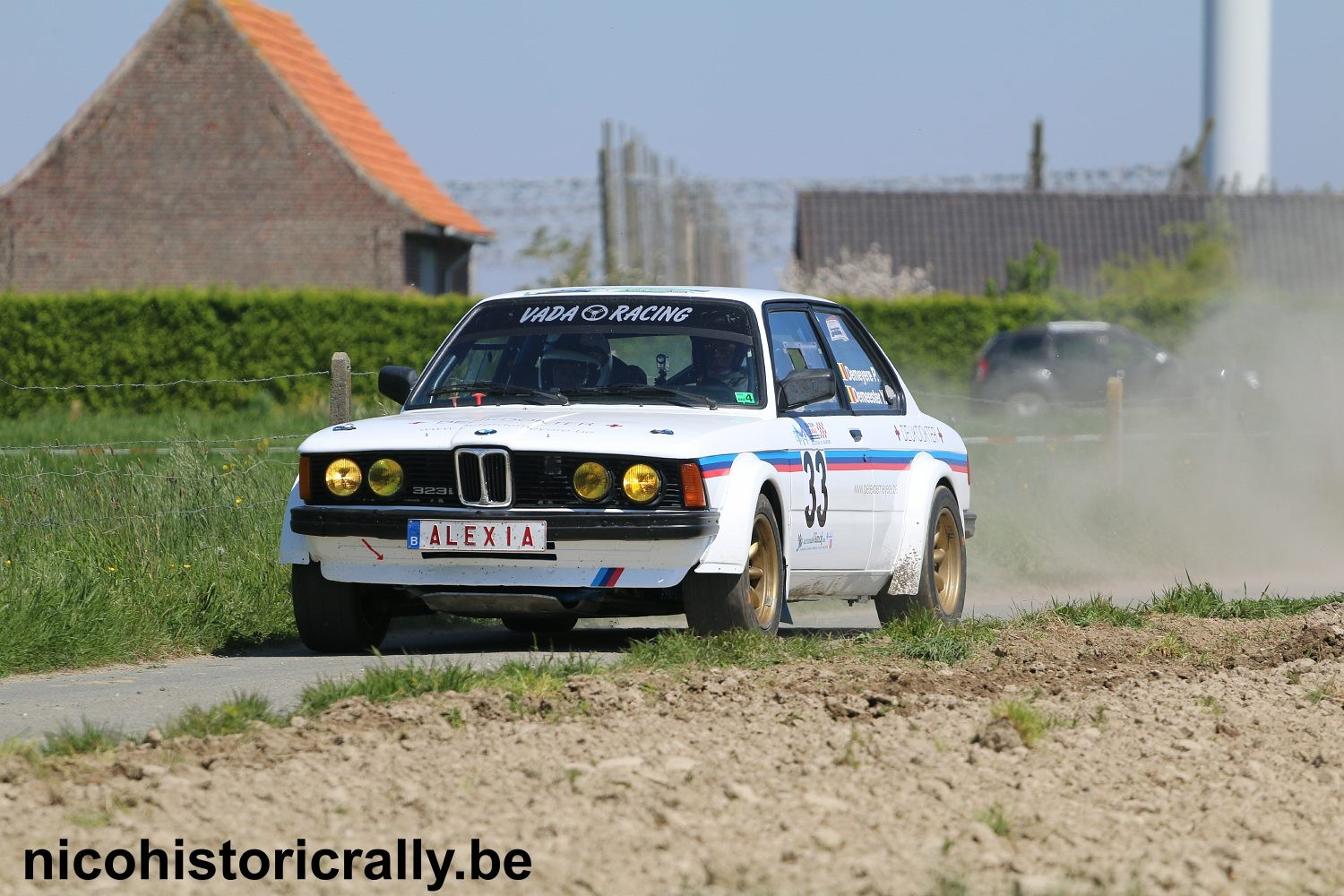 Peter Demeyere in de Monteberg Short Rally.