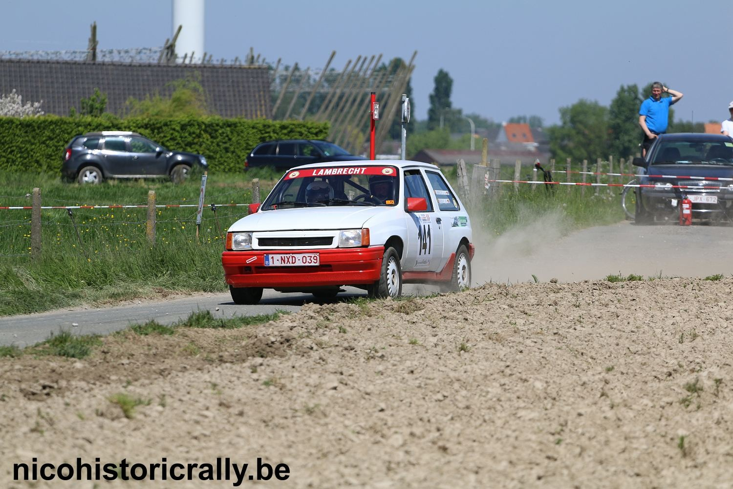 Wedstrijdverslag Dick Lambrecht in de Monteberg Short Rally.