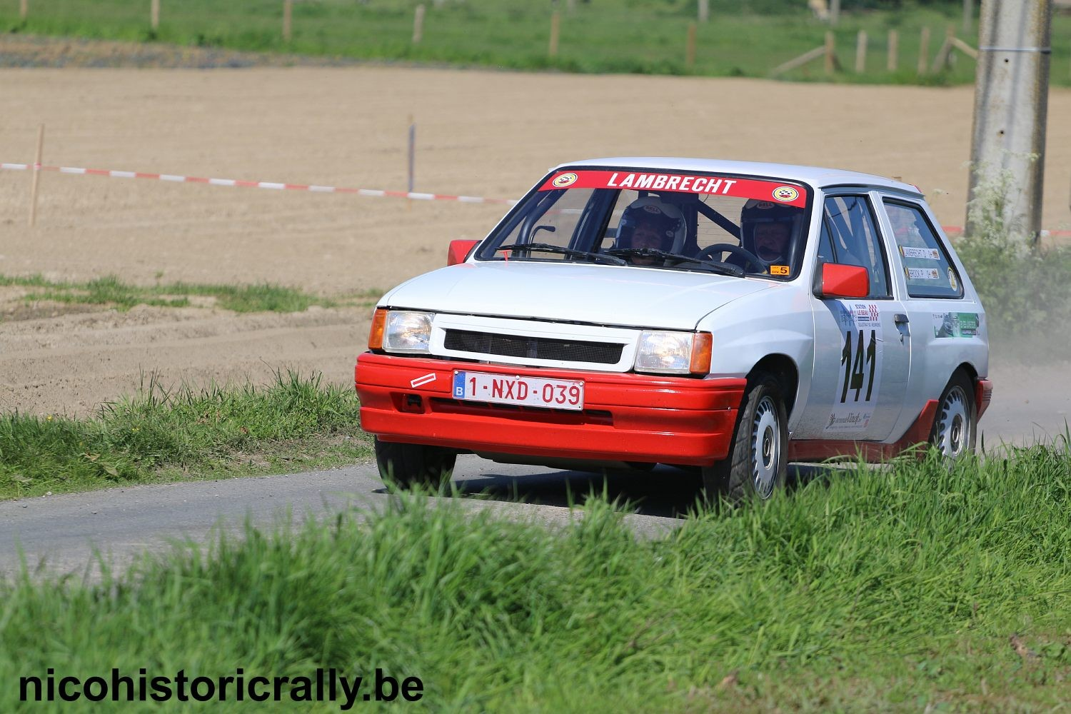 Dick Lambrecht in de Monteberg Short Rally.