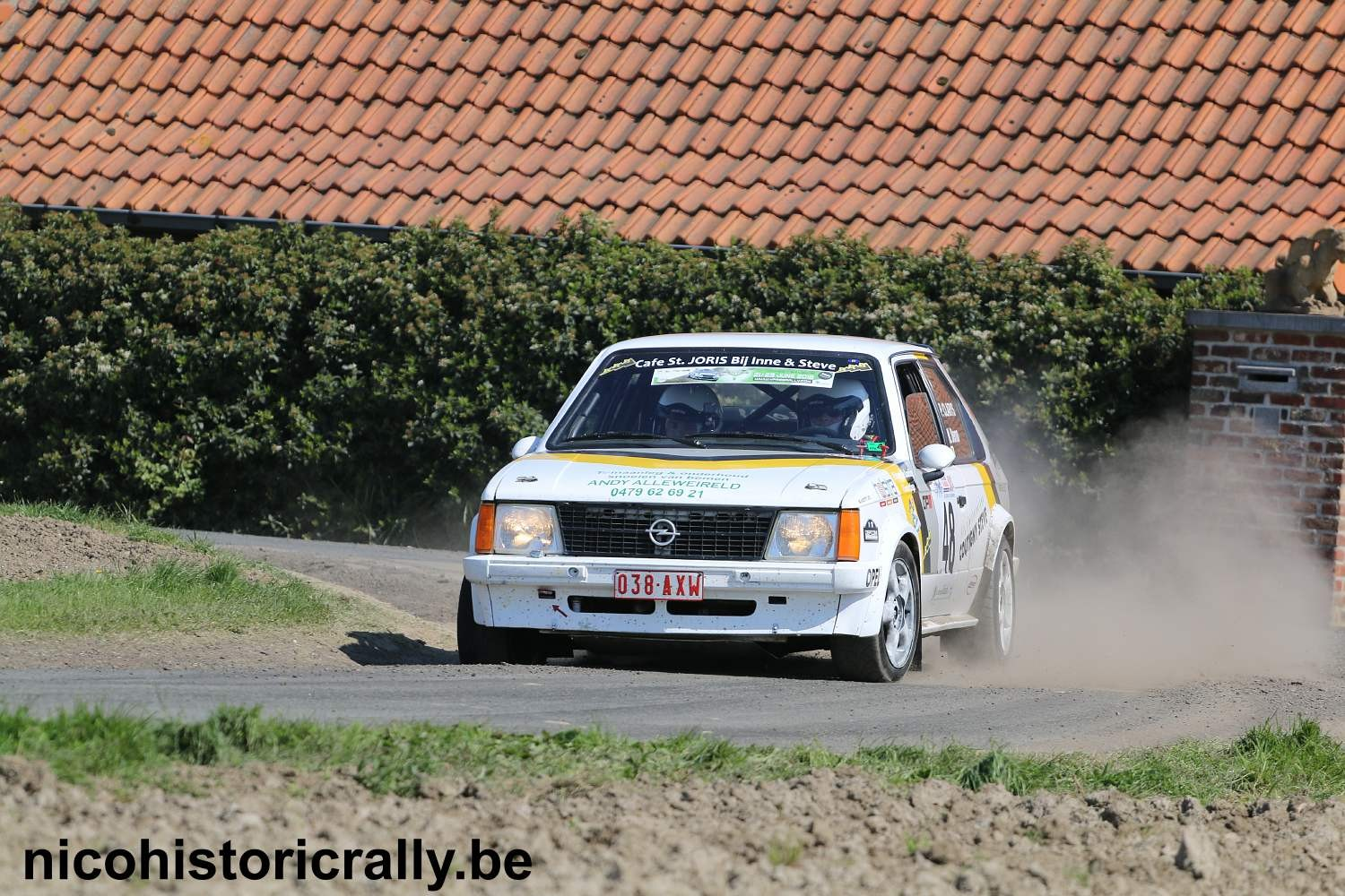 Pascal Clarys in de Monteberg Short Rally.