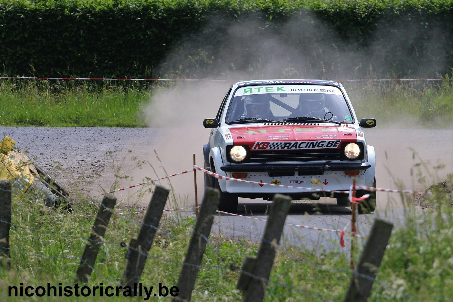 Steven Maes in de ORC Rally.
