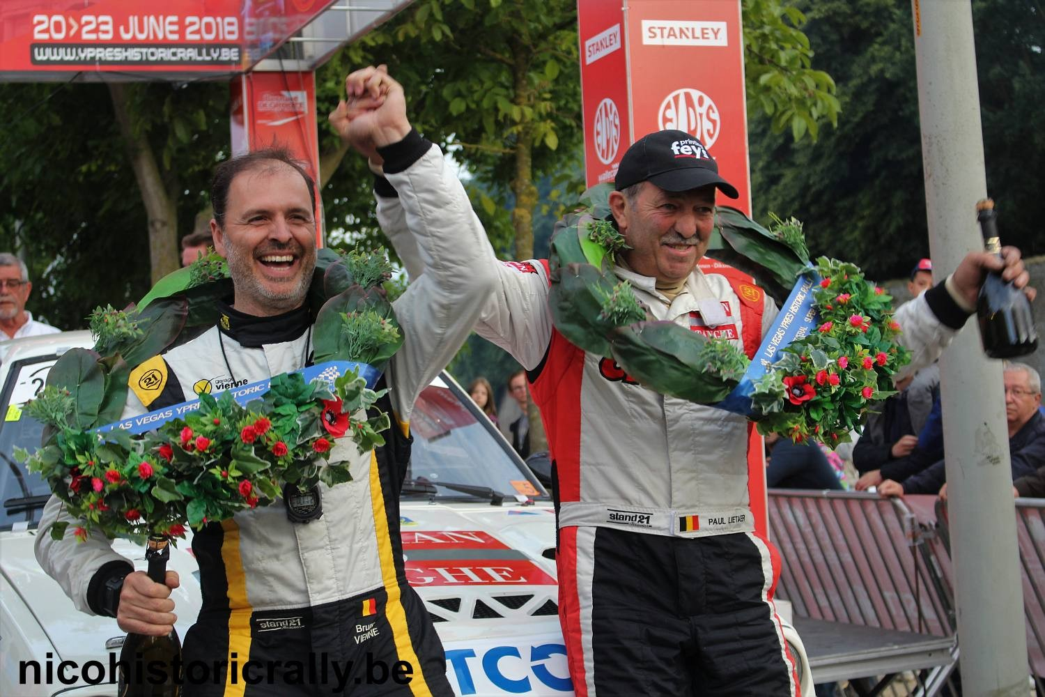 Foto-album podium FIA LAS VEGAS YPRES HISTORIC RALLY is toegevoegd.