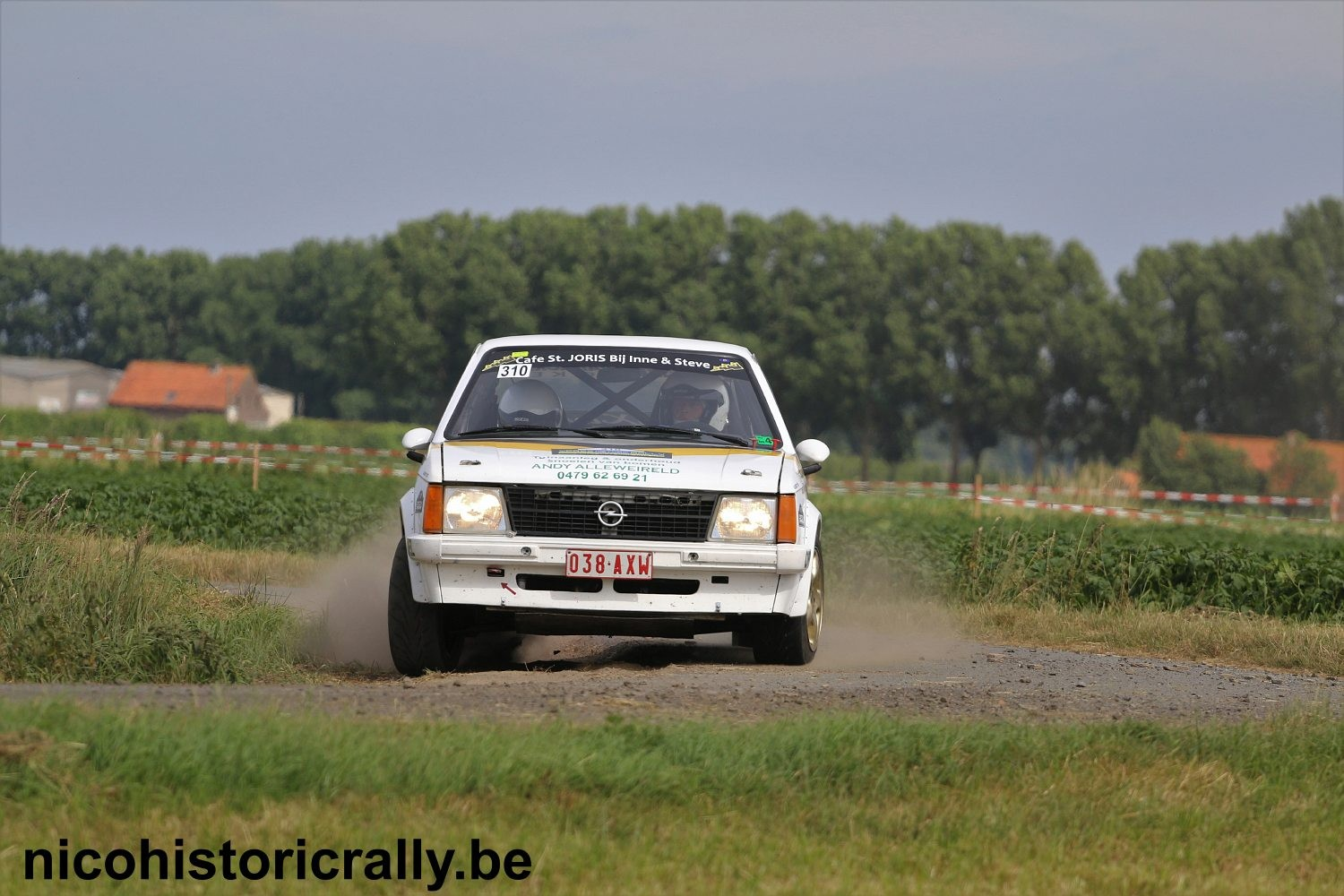 Pascal Clarys in de Ypres Classic Rally.