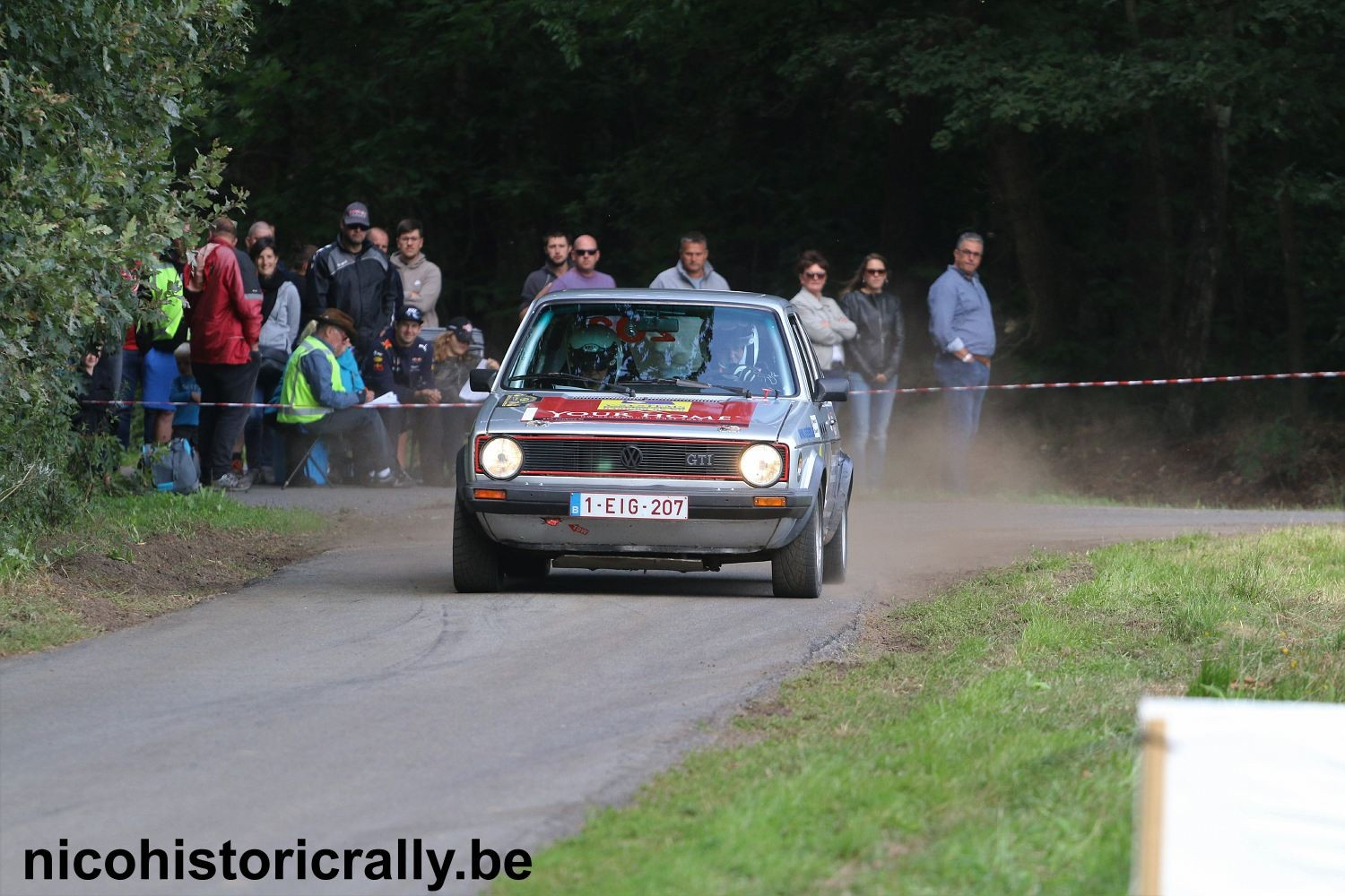 Philippe Vallaeys in de Short Rally van Kasterlee.