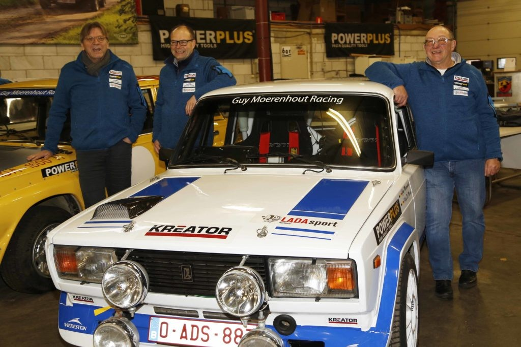 EEN LADA 1500S ABARTH IN BASTOGNE