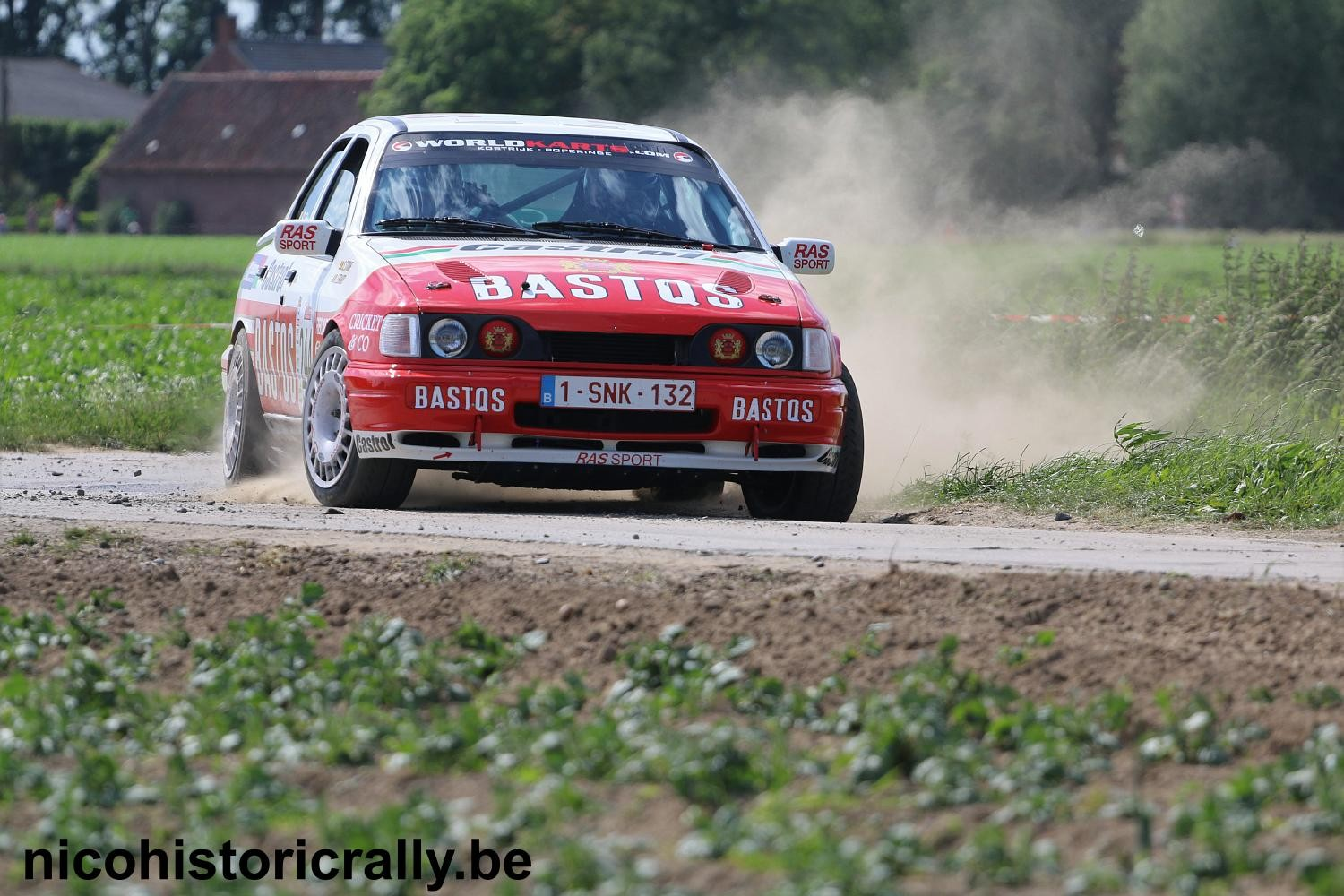 Voorbeschouwing Stefaan Stouf en Joris Erard in de Las Vegas Ypres Historic Rally !