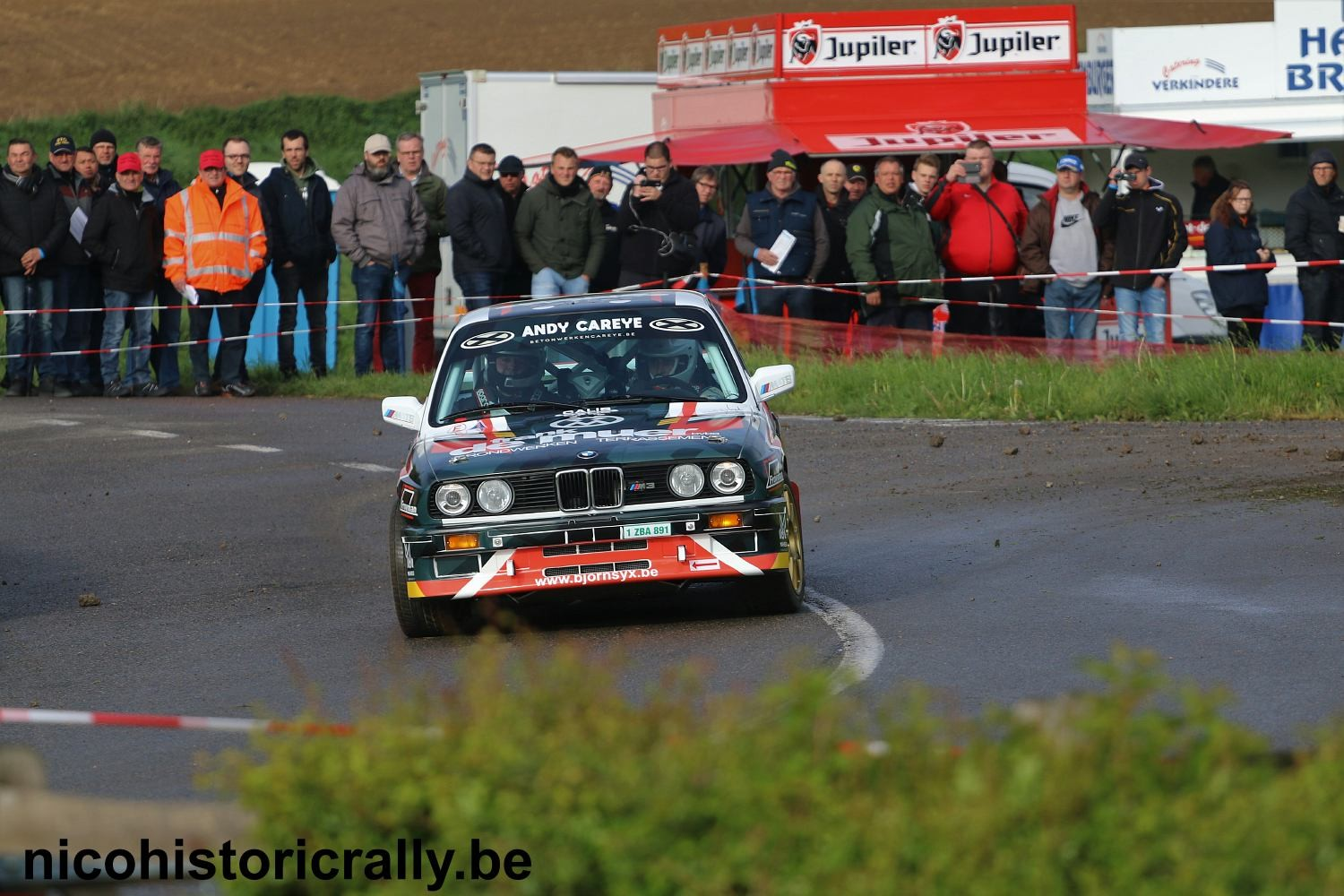 Voorbeschouwing Bjorn Syx in de  Las Vegas Ypres Historic Rally.