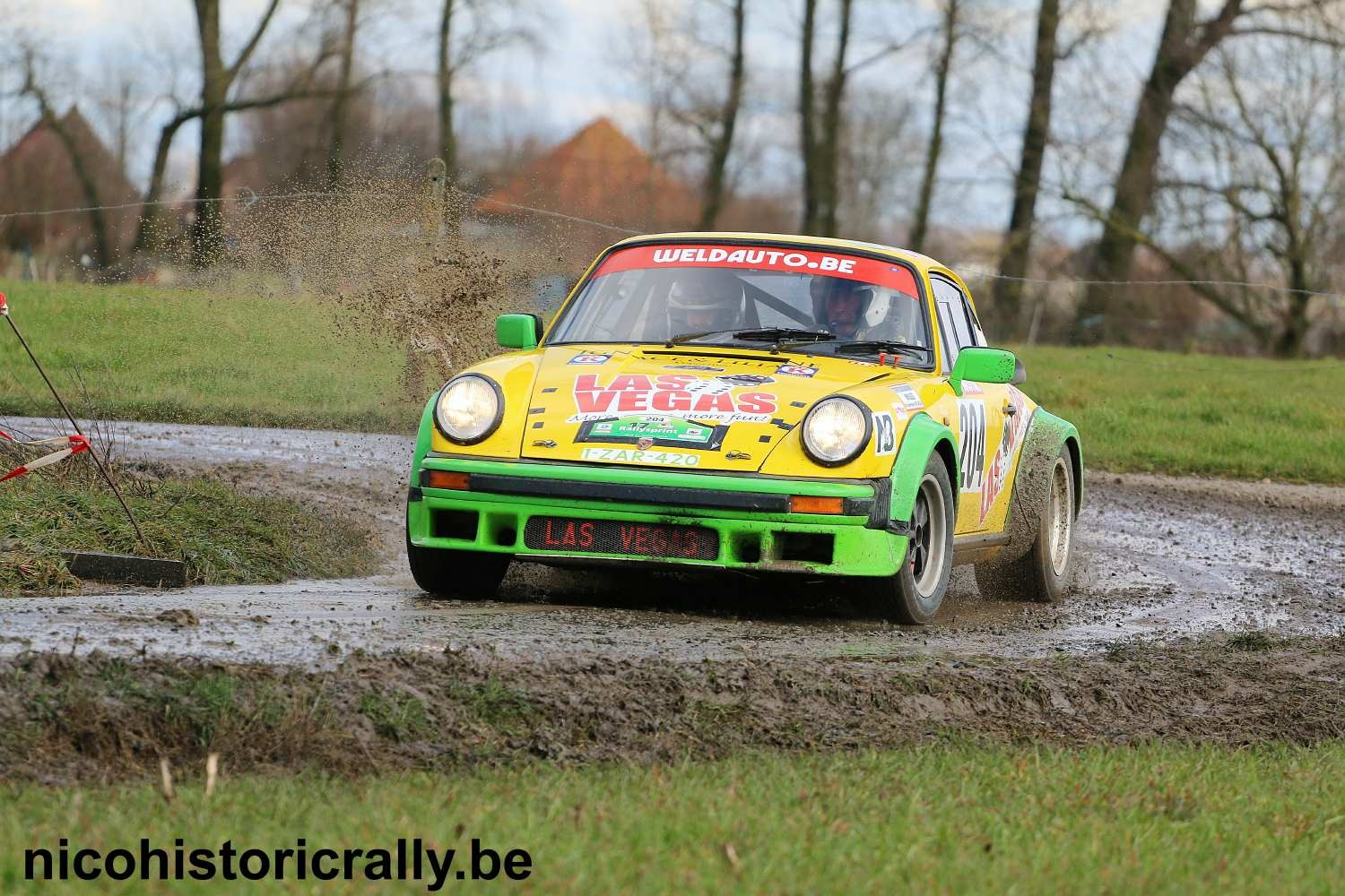 Voorbeschouwing Piet Declercq in de Las Vegas Ypres Historic Rally.