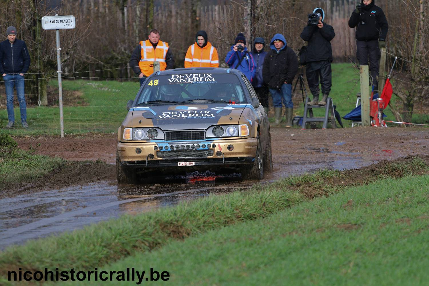 Voorbeschouwing South Belgian Rally: Dirk Deveux start als favoriet !