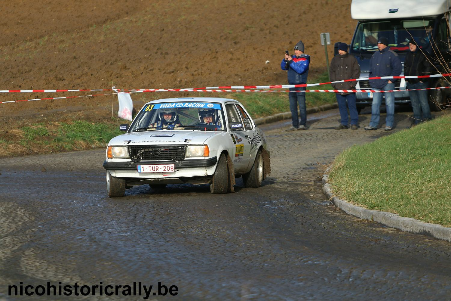 Preview Eric Louies in de South Belgian Rally !
